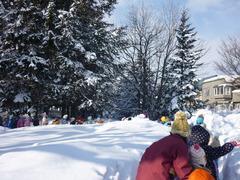 雪の中を行進.JPG