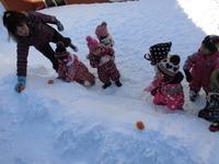 雪と一緒 みかん1のサムネール画像