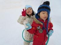 雪遊び(うさぎ)のサムネール画像